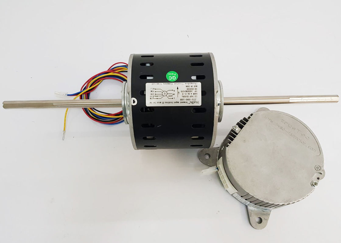 220V Single Phase BLDC Fan Coil Motor of Rated Output Power 180W 1500 RPM Variable Speed