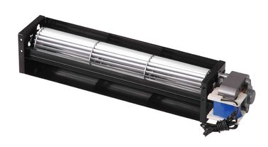 AC220v 50hz Cross Flow Blower Aluminum Impeller Steel Housing , 186 M³ / H Much Air Volume